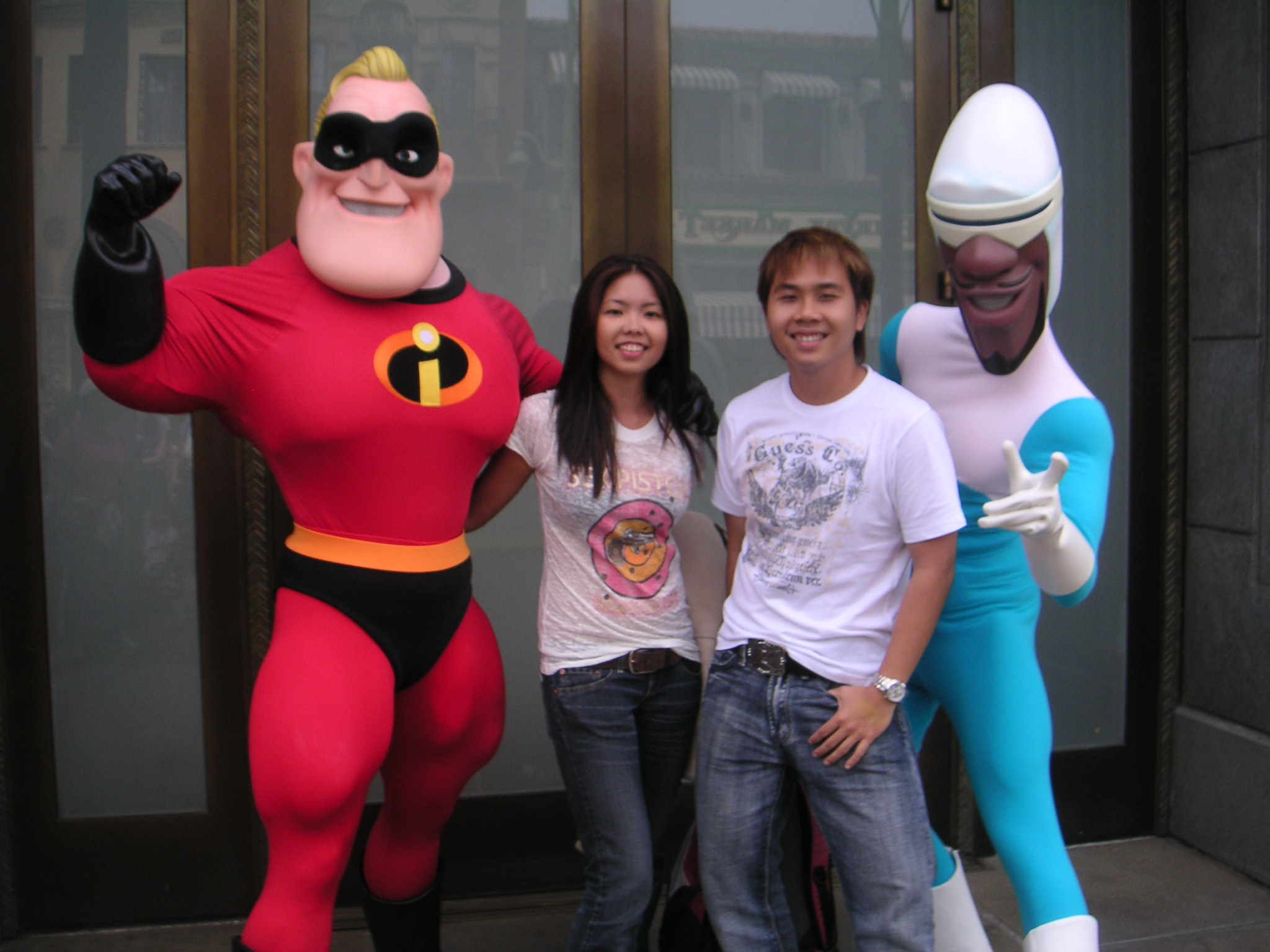 Mr Incredible & Frozone