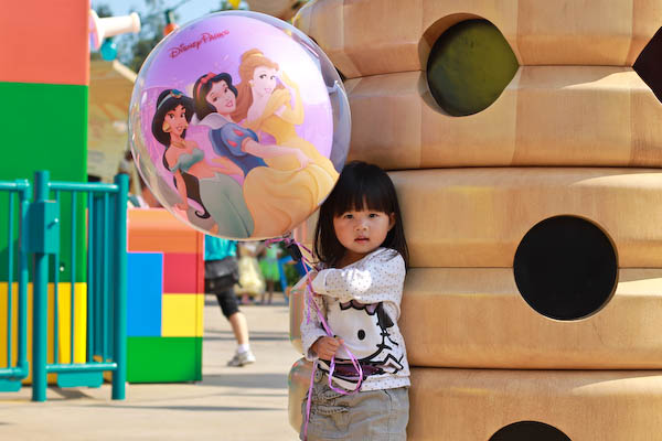princess baloon disney Hong Kong Disneyland   Part the Second