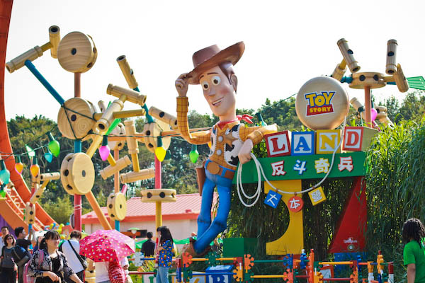 woody toy story land Hong Kong Disneyland   Part the Second