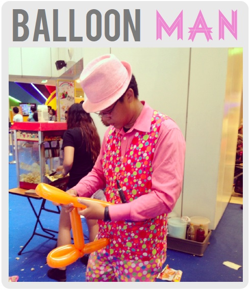 balloon man UPDATED: New diapers for old