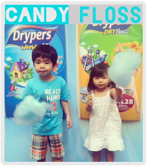 candy floss UPDATED: New diapers for old
