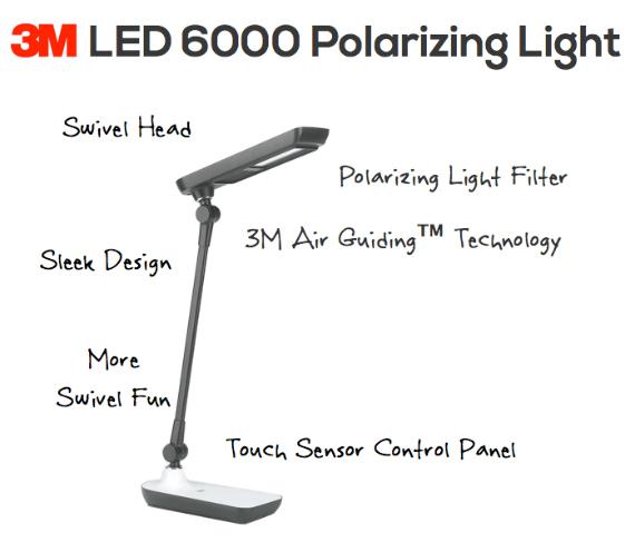 3M LED 6000
