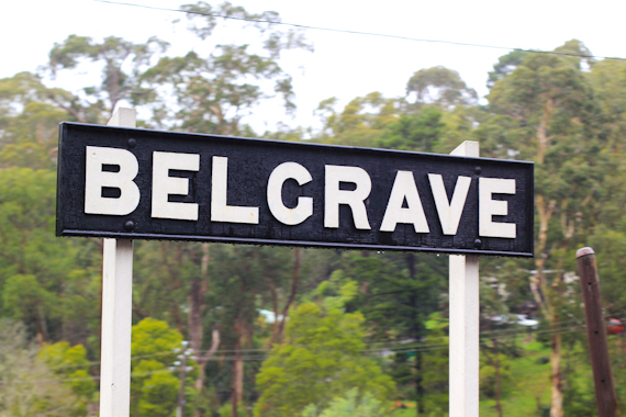 road to belgrave