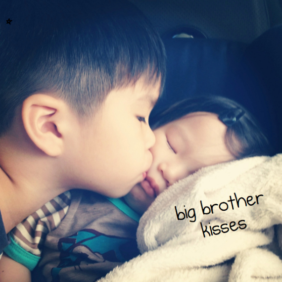 big brother kisses