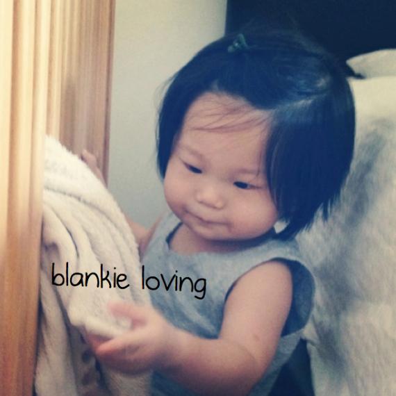 blankie loving