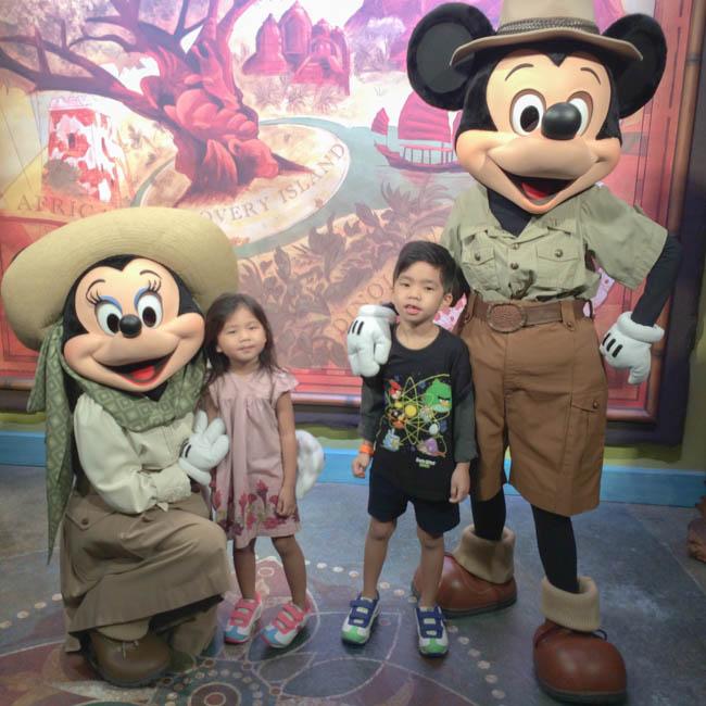 safari mickey & minnie