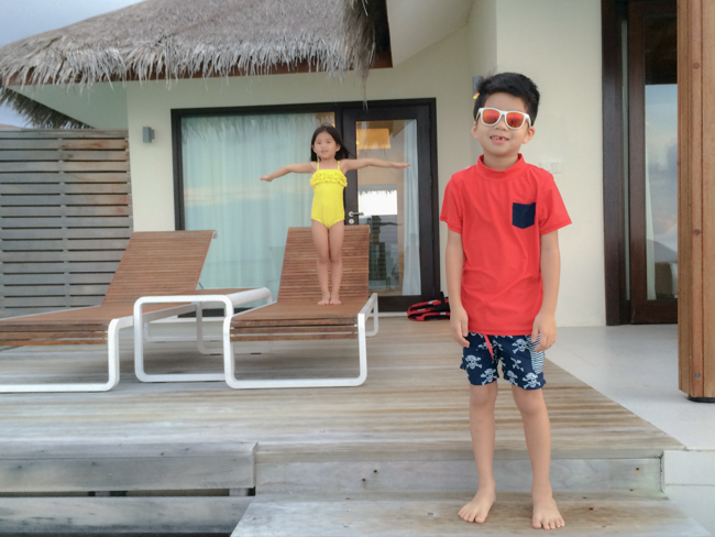 kids water villa