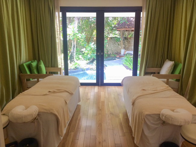 lime spa room